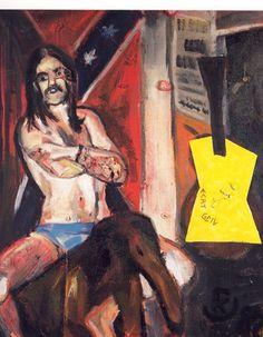 Martin Kippenberger - Motorhead (Lemmy) 2 (1982)