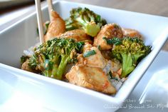 healthy chinese chicken broccoli stir fry