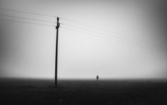 I Will Never Find Me Again by Serban Bogdan on Art Limited Never, Utility Pole, Art Work, Silhouette, Artist, Work Of Art, Art Pieces, Artists