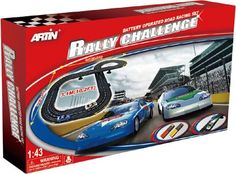Artin Rally Challenge Track Set Toy Sale, Battery Operated, Rally, Golf Clubs, Track, Xmas, Challenges, Sports, Hs Sports