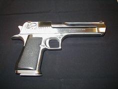 Desert Eagle Nickel .44 Magnum Tactical Life, Tactical Gear, Handgun, Firearms, 44 Magnum, Desert Eagle, Hand To Hand Combat, Main Character, 2nd Amendment