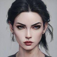 Digital Portrait, Portrait Art, Female Character Design, Character Art, Fantasy Names, Elfa, Beautiful Fantasy Art, Creative Portraits, Character Portraits