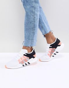 f61c52713 adidas Originals | adidas Originals EQT Racing Adv Trainers In White  Chinelos, Sapatos Confortáveis,