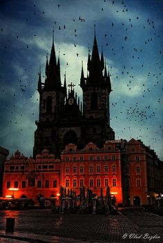 Church of Our Lady Before Tyn, Prague, Czech Republic