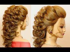 Prom wedding hairstyles for long medium hair - YouTube