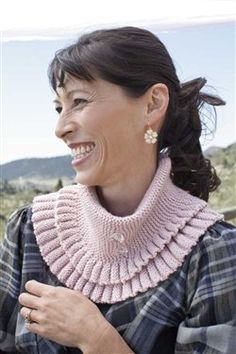 Twinkle Collar - Knitting Daily