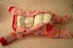 DIY Sleeping Baby Diaper Cake | My Love of Style – My Love of Style