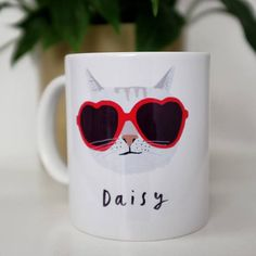 Personalised Pet Cat Mug Choose from differenty styled cat faces Cat Lover Gifts, Cat Lovers, Information About Cats, Cat Logo, Orange Cats, Cat Facts, Grey Cats, Personalized Mugs, Cats And Kittens
