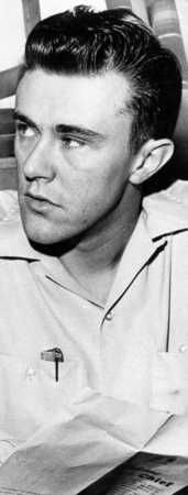 Richard Hickock is seen in 1960. Hickock was hanged with Perry Smith in 1965 after being convicted in the 1959 quadruple murder of the Herbert Clutter family.