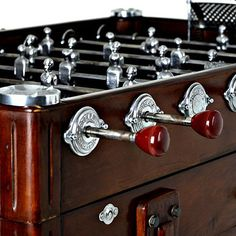 Antique foosball table. Looks good anywhere