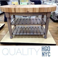 Pretty sure I featured this John Boos kitchen island before but I'm obsessed with it and wish it was mine!!! $1699.99 #homegoods #home...
