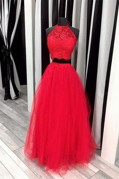Pink Prom Dress,ball Gowns Prom Dresses,two Piece Prom Dress,lace Crop Top,elegant Party Dress Prom Dresses Long Pink, Prom Dresses Two Piece, Prom Dresses For Teens, Elegant Prom Dresses, Tulle Prom Dress, Formal Evening Dresses, Party Dresses, Tulle Lace, Mothers Dresses