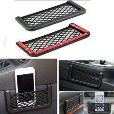 Universal Car Seat Side Back Net Storage Bag Phone Holder Pocket Organizer | Automotive, Parts & Accessories, Car & Truck Parts | eBay!