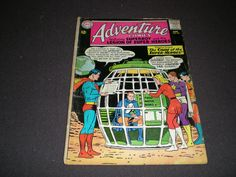 Adventure Comics 321, Superboy, 1964, DC Comics A1 by HeroesRealm on Etsy