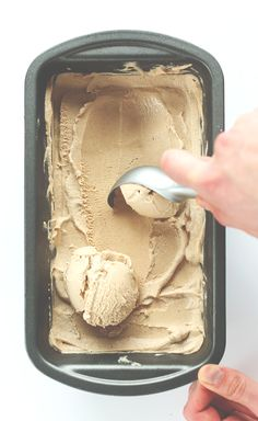 Creamy, Sweet, Spicy VEGAN Chai Ice Cream! You'd never guess it's dairy free + so easy!