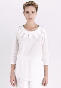 Blouse - white BUY IT NOW ON www.dezzy.it!