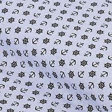 Leichter Elastik-Jersey 'Anker und Steuerrad', jeans-melange Shops, Math, Words, Jeans, Anchors, Do Crafts, Tents, Math Resources, Retail