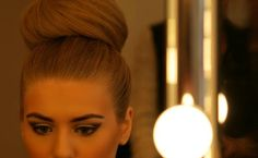 This is the only way hair should be on the top of the head....classy