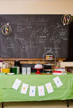 Mad Scientist Party...it would be good to do the last few days/week of school.