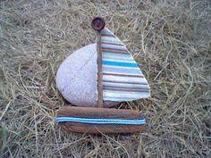 A Spoonful of Crafts: Fisk på en pind og en båd til tallerkenpynt / Fish on a Stick and a Boat to be used as Plate Decoration