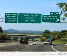Highway signs that I can understand