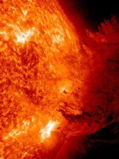 Solar Flare Sparks Biggest Eruption Ever Seen on Sun. Image courtesy SDO/NASA