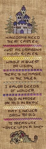 "Very cute fairytale pattern! ""Tales of Wonder"" cross stitch (maybe for future niece/nephew's room?)"