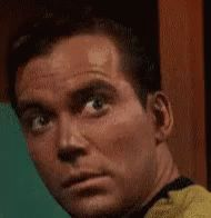 Kirk Is Checking It Out - Star Trek: The Original Series GIF - StarTrekTheOriginalSeries - Discover & Share GIFs