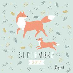 Le calendrier DIY – septembre 2017 | Zü – le Blog