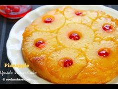 Simple Yet Tasteful Pineapple Upside-Down Cake – Desserts Corner Cakes To Make, How To Make Cake, Mini Pineapple Upside Down Cakes, Pineapple Cake, Pineapple Cheesecake, Tolle Desserts, Cook N, Great Desserts, Easy Cooking