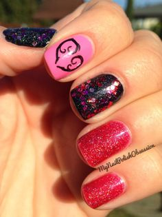 My Nail Polish Obsession: Valentine's Day Nails