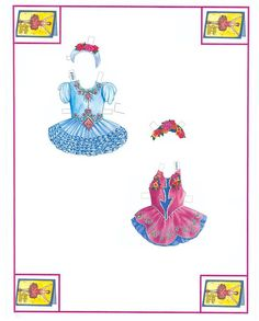 The Amazing Academy of Ballet paper dolls by Peck Aubry
