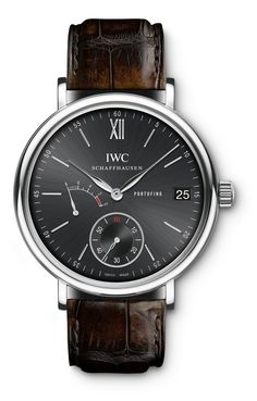 IWC Portofino 8 Days Black Face  ..Can't decide between this or the white face