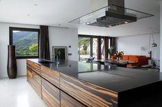 minimal kitchen - ebano-, DARIO TURANI Interior Designer
