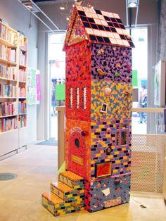 mosaic fairytale house