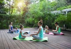 Kids yoga doesn't ju