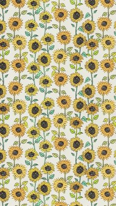 Sunflower wallpaper, sunflower pattern, pattern flower, cute backgrounds, p Cute Backgrounds, Cute Wallpapers, Wallpaper Backgrounds, Wallpaper Art, Iphone Backgrounds, Desktop Wallpapers, Wallpaper Quotes, Flowers Wallpaper, Sunflower Wallpaper