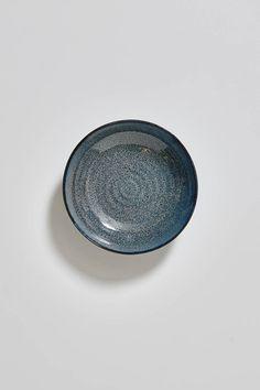 Indigo Shallow Bowl - 21cm