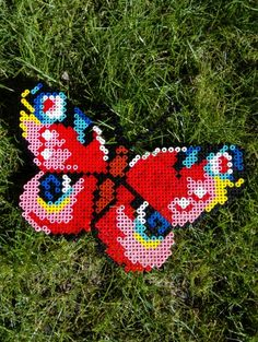 Butterfly make in Hama beads