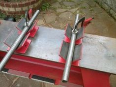 Homemade Workbench Hold Downs