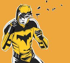 Batfamily Fight Club: Duke - http://inkydandy.tumblr.com/