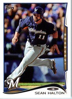 2014 Topps Baseball Card # 394 Sean Halton - Milwaukee Brewers