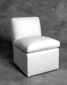 Anthony Lawrence Belfair Baldwin Slipper Chair (black and white ticking stripe)