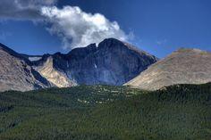 Longs Peak, Rocky Mountain National Park (Colorado, USA)