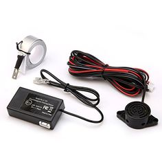 GERI Electromagnetic Car Parking Reverse Backup Radar Sensor System Reversing Kit * To view further for this item, visit the image link.Note:It is affiliate link to Amazon.