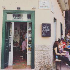 """Palma Mallorquina oder das schönste kleine Café """"La Molienda"""" in #Palma #cafe #hipster #avocado"""