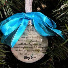 Spouse Memorial Ornament In Memory Christmas Angel in Heaven I call him My Husband Loss of Loved One Gift Sympathy Memory Bauble Widow In Memory Christmas Ornaments, Memorial Ornaments, Memorial Gifts, Glass Ornaments, Christmas Ideas, Glitter Ornaments, Christmas Crafts, Amanda, Bereavement Gift