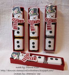 Stamps Well With Others: Snow Place Nugget Snowman