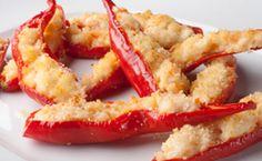 Pimenta dedo-de-moça recheada com camarão e cream cheese - Receitas - Receitas…