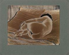 Marcel Bovis (1904-1997) untitled (solarized nude), 1936